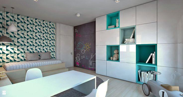 Pokój dziecka - Styl Nowoczesny - A2 STUDIO pracownia architektury