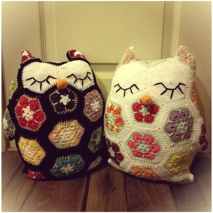 Owl pillows / Bagolypárnák