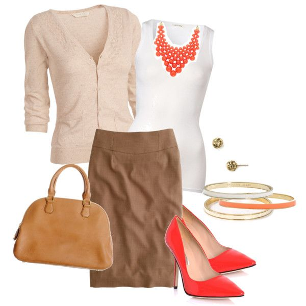 Cute casual work outfit...love these shoes!!
