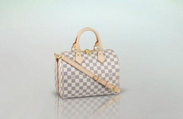 borse bianche primavera estate 2014 Louis Vuitton Speedy