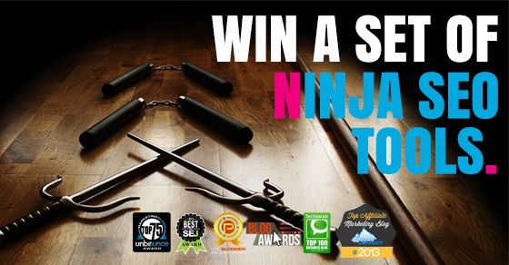 Complete Suite Of Ninja SEO Tools Giveaway