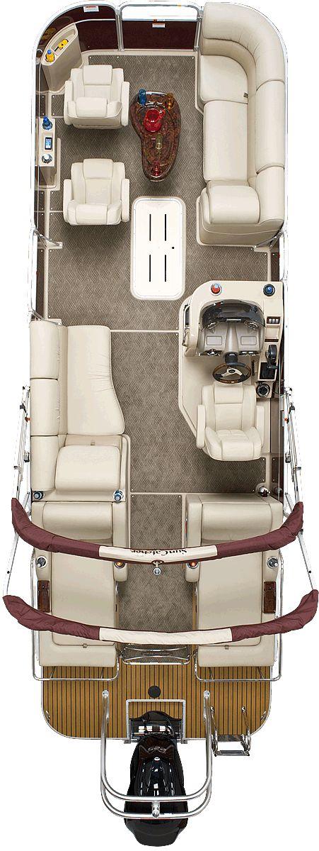 Elite 326 DLX SS | SunCatcher Pontoon Boats by G3