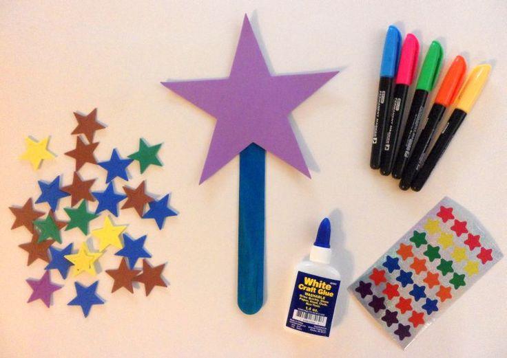Make your own magic wand