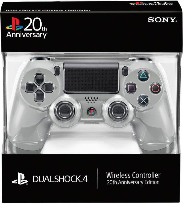 Manette Dualshock 4 pour #PS4 édition 20ème anniversaire !  À précommander de suite, avant que nos collaborateurs vident les stocks ;)