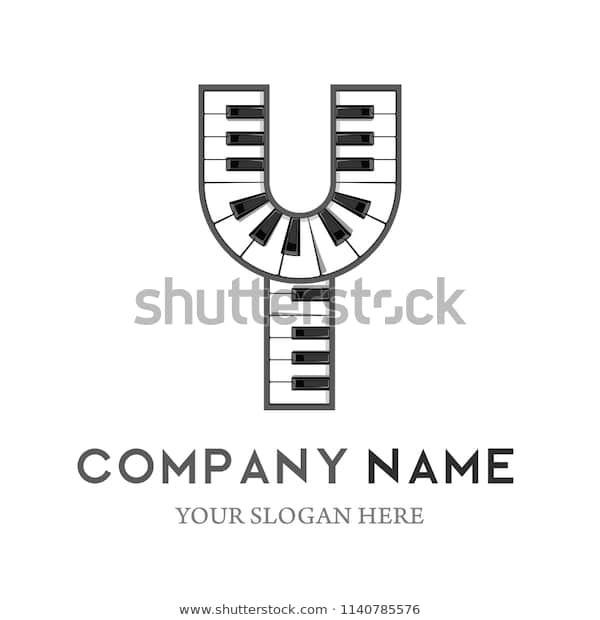 Find Y Letter Logo Design Piano Keyboard Stock Images In Hd And Millions Of Other Royalty Free Stock Photos Illustr Letter Logo Design Letter Logo Logo Design