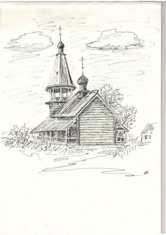 ДЕЛОРУК... - старая церковь..