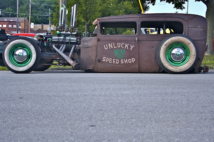 Unlucky Speed Shop ramrod. The little bit of color gives it just what it needs