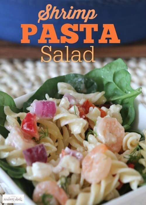 257 best satisfying salads images on pinterest healthy for Prawn and pasta salad recipes