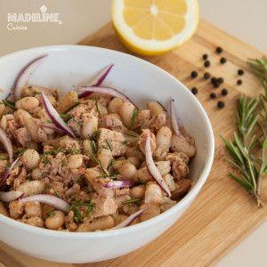 Salata de fasole si ton / Bean & tuna salad - Madeline's Cuisine