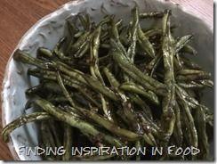 Deep-Fried Green Beans with Garlic Sauce