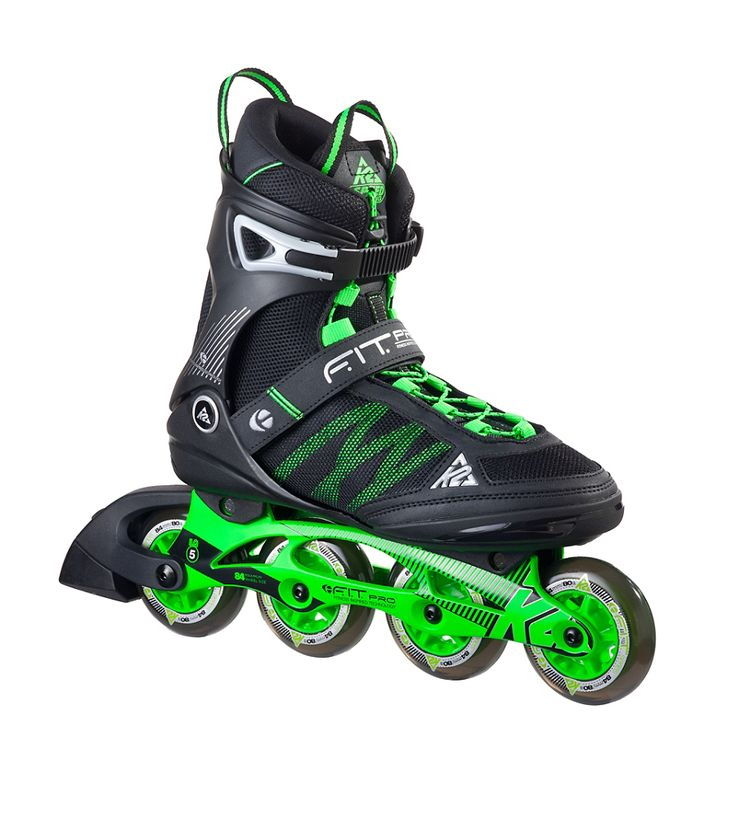 The F.I.T. Pro 84 features 84mm wheels all the way across on a D.C. Aluminum frame. This design delivers excellent power transfer and stability at speed. #k2skates #k2fitpro84