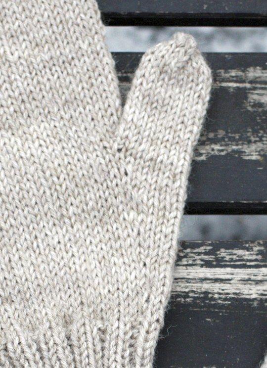Peruslapaset kiilapeukalolla Novita 7 Veljestä   Novita knits