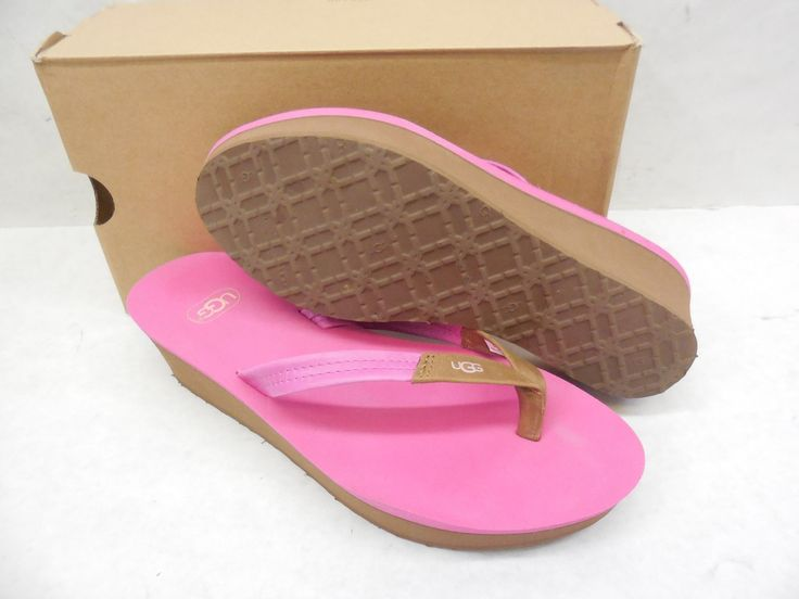 UGG Australia Ruby 1006346 Platform Sandals Shoes Size 8