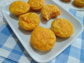 Ricette senza Nichel: MUFFIN SALATI ALLA ZUCCA E RICOTTA senza nichel | Pumpkin Muffin nichel free recipe | Italian Food