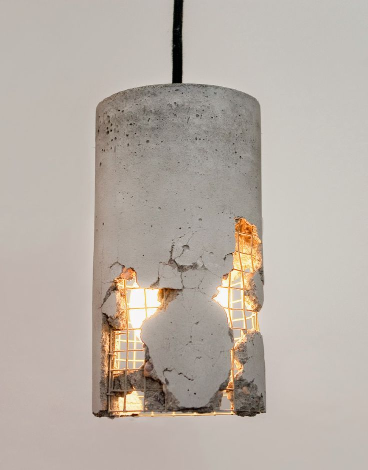 concrete lamp                                                                                                                                                      More
