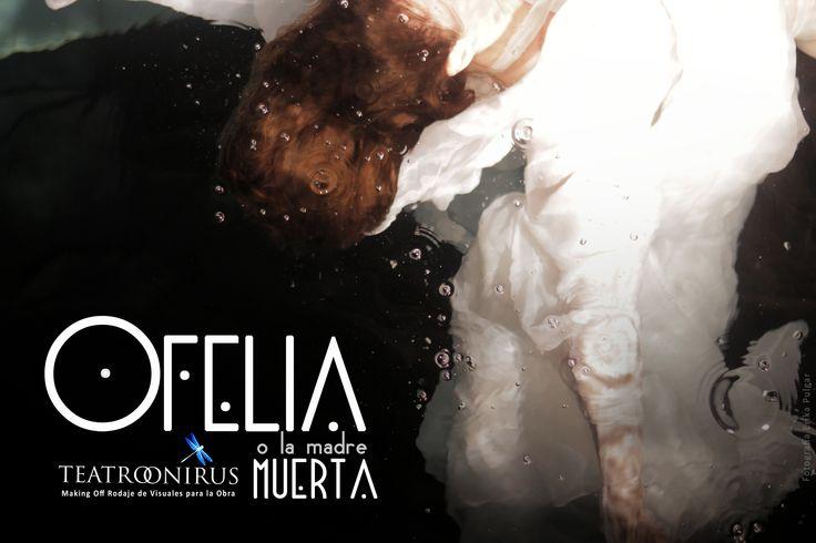 """Backstage """"Ofelia o la Madre muerta"""" Teatro Onirus. 4 al 27 de Octubre,2013. Teatro Finis Terrae Av. Pocuro 1935, Providencia"""