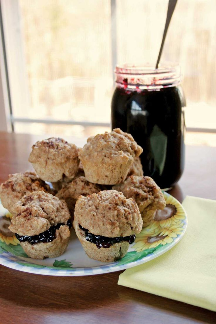 This Elderberry Jelly recipe is great on muffins any time of day.