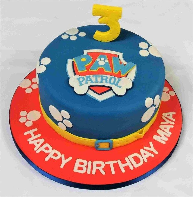 30 Brilliant Photo Of Pinterest Birthday Cakes Paw Patrol