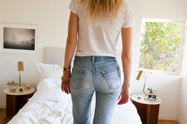 The secret to a great-looking butt in jeans.