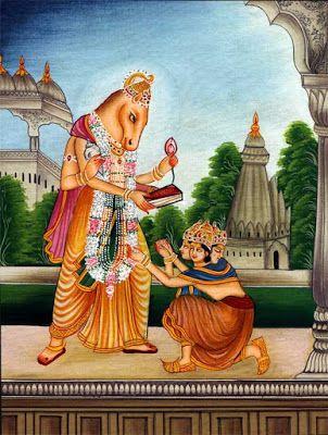 24 Incarnations of Lord Vishnu-16. Hayagreeva Avatar: