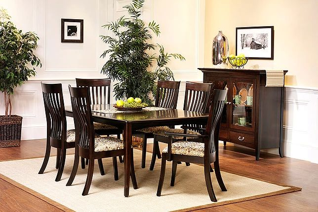 English Shaker Amish Dining Room Furniture Collection ...