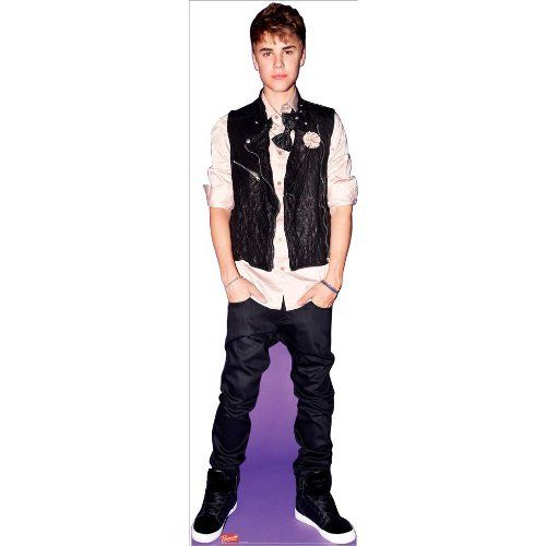 Latest exclusive Justin Bieber cardboard cutout, now own your favorite hot icon in large size cardboard cutout at unbeatable low price and unmatched quality.