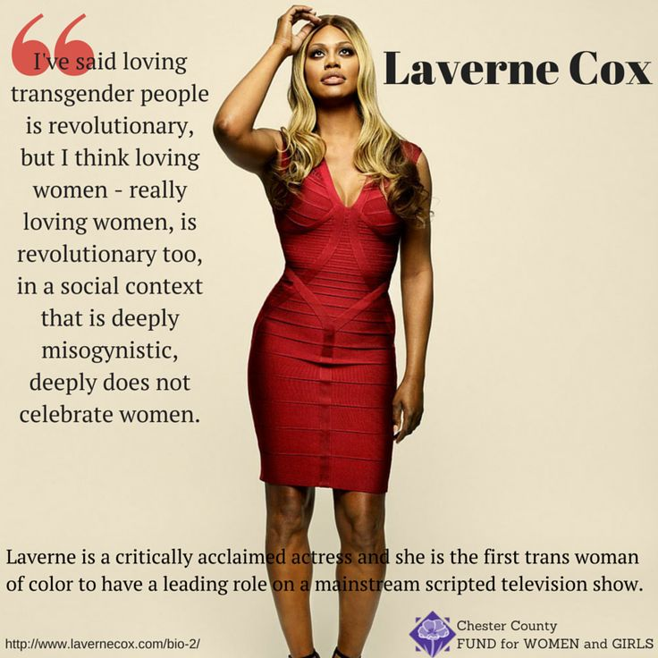 Laverne Cox - enough said.