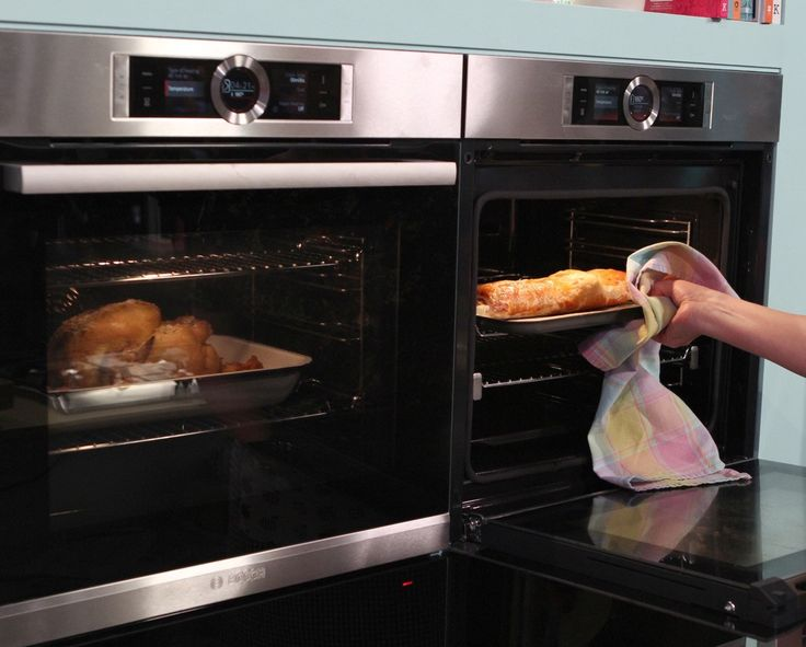 Bosch Serie 8 oven helps cook delicious food on Sunday Brunch.
