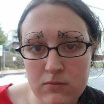 The 44 worst sets of eyebrows in history the o 39 jays for Face tattoos gone wrong