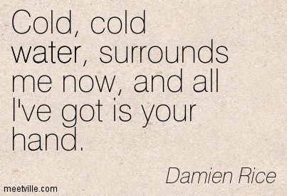 Damien Rice - This song is like a prayer