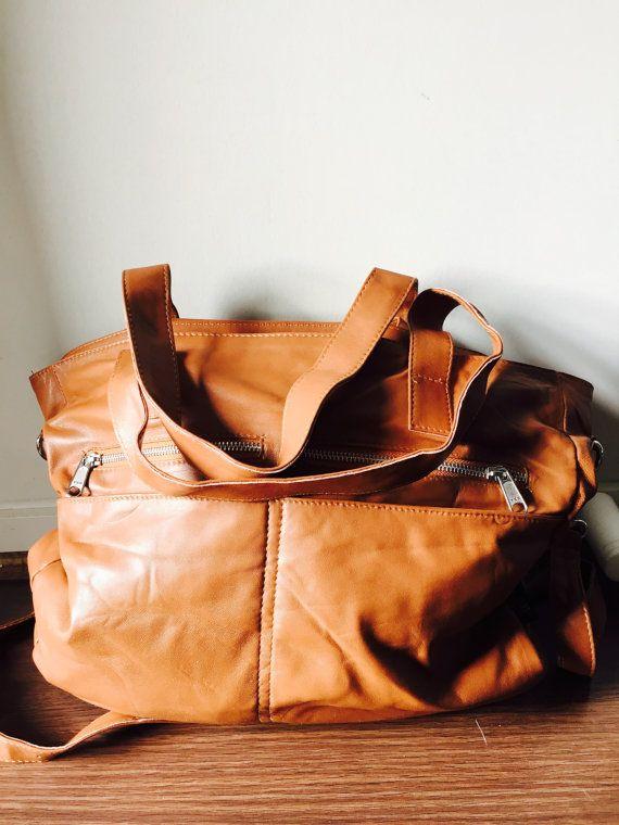 Largesoft and functional handbag. Our designer by TanaandHide