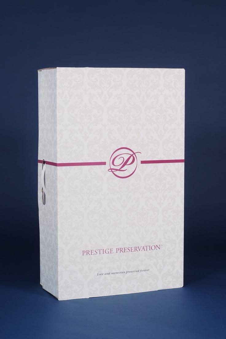 wedding dress cleaning preserving wedding dress Prestige Preservation wedding gown preservation box