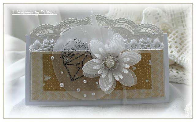 Handmade by Mihaela: White waterlily