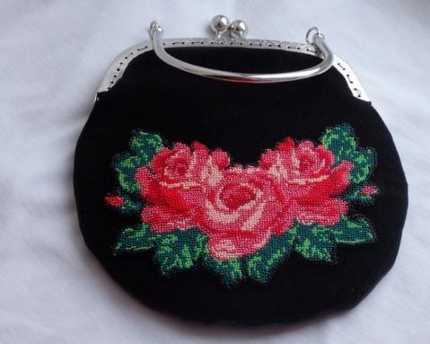сумочка с розами