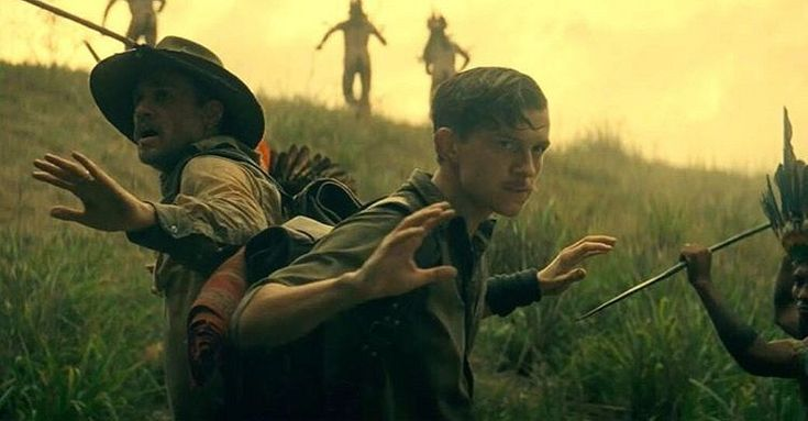 Charlie Hunnam et Tom Holland dans The Lost City of Z