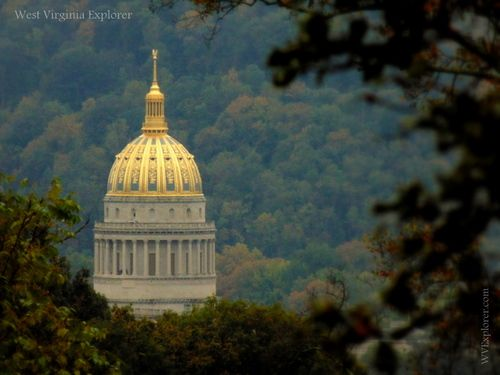 Our thanks to Cass Gilbert for gifting West Virginia with a true work of art. The West Virginia capitol, at Charleston, W.Va., is such a part of the background of life that we too often lose sight of how beautiful it is. -West Virginia Explorer