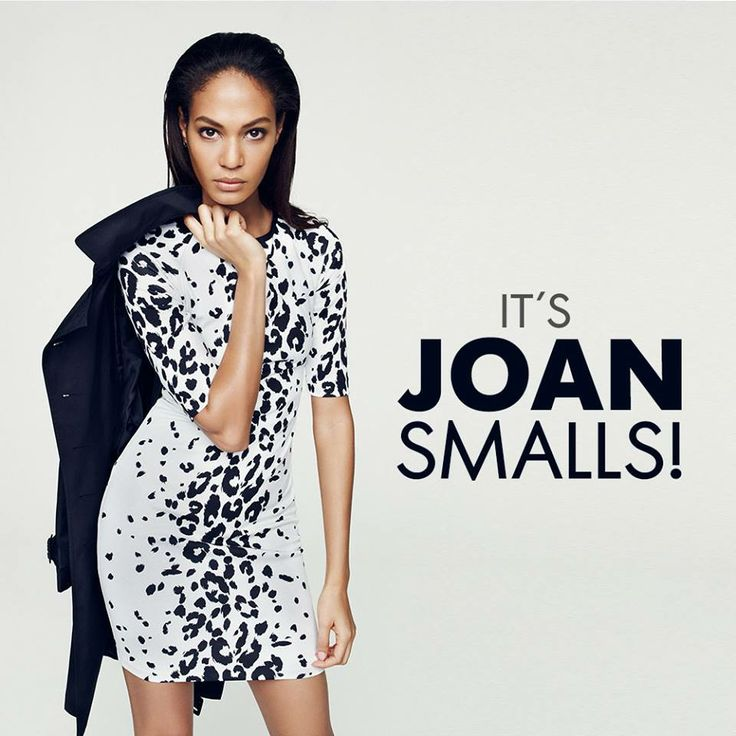 Introducing the elegant and stylish face of Studio.w for Winter '14, supermodel Joan Smalls!