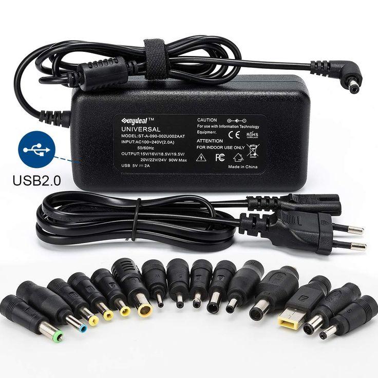 Sunydeal Chargeur Adaptateur Secteur Universel 15v En 2020 Chargeur Ordinateur Pc Pc Portable