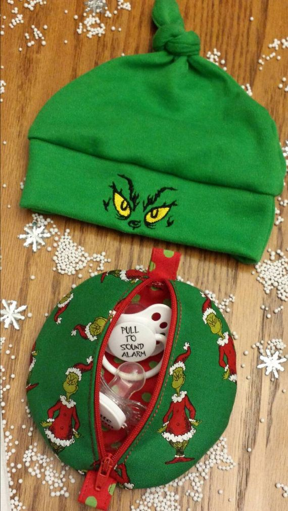 Hey, I found this really awesome Etsy listing at https://www.etsy.com/listing/254314753/grinch-baby-beanie-hats-pacifier-pods