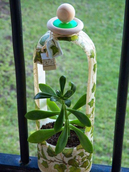 Ele reciclagem frasco de xampu | Saiba Crafts é facilisimo.com