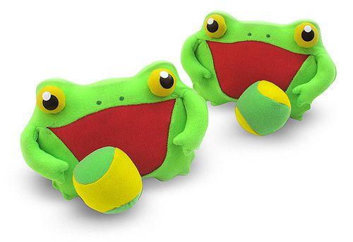 Vangspel kikker Melissa and Doug - Speelgoed van hout, kinder verkleedkleding, speelgoed poppen en pluche knuffels