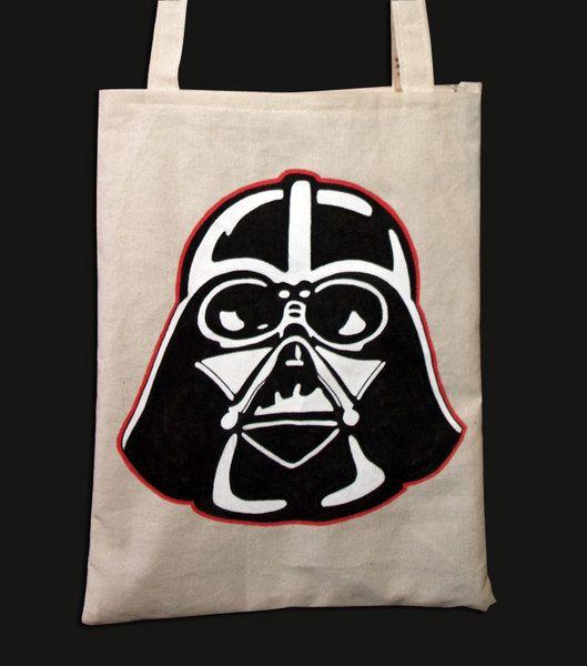 Darth Vader Tote Bag de Mr. Rancio! Ilustración por DaWanda.com