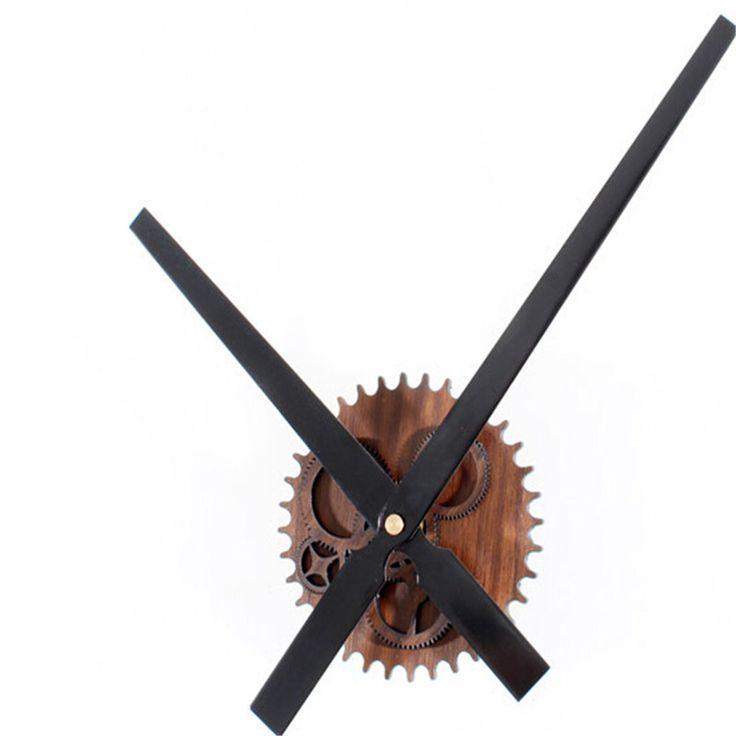 2015 NEW 30CM Metallic Retro Large Gear Wall Clock  Movement DIY Creative Wall Clock Home Decor wanduhr reloj pared  kitchen