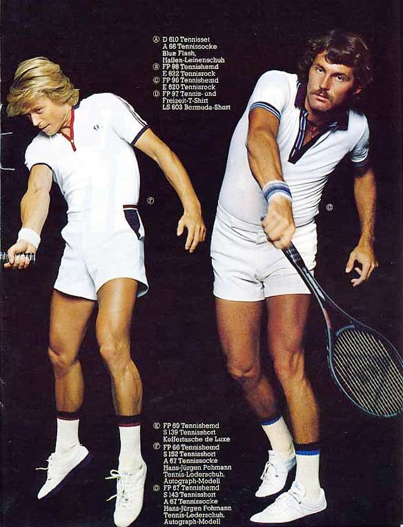 Fred Perry tennis wear, 1979 - 80s-tennis.com