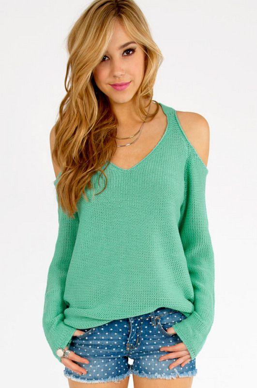 Best 25  Cold shoulder sweater ideas on Pinterest | Cold shoulder ...