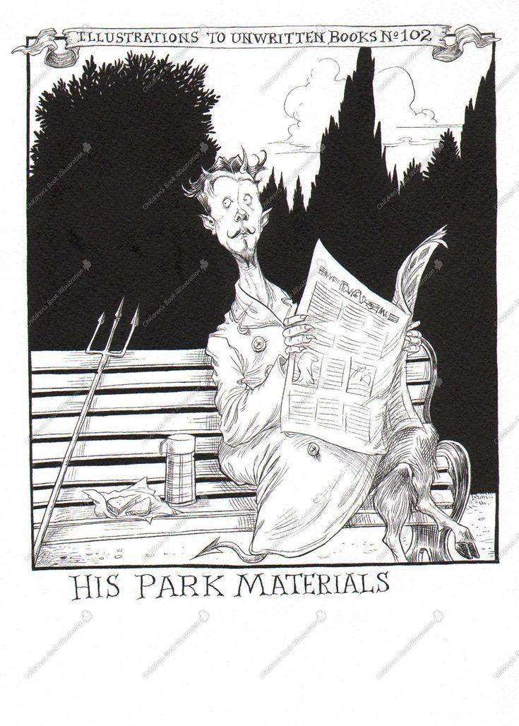Children's Book Illustration - Chris Riddell