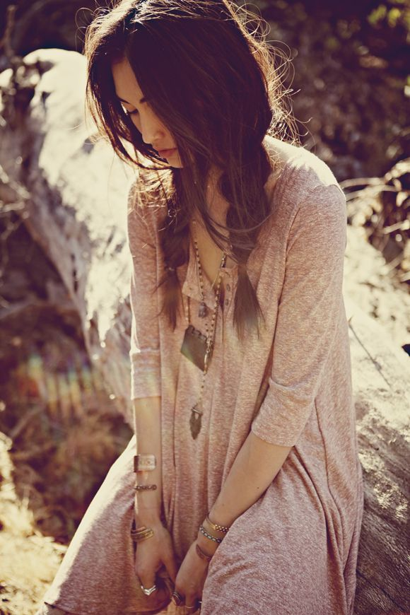 Boho Look | Bohemian boho style hippie chic bohème vibe gypsy fashion indie folk the 70s