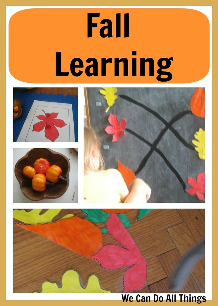{we can do all things} Fall LearningFun Fall, Activities For Kids, Fall Preschool, Fall Apples Halloween Nam, Cute Ideas, Autumn Fal, Fall Learning, Fall Activities, Fall Theme
