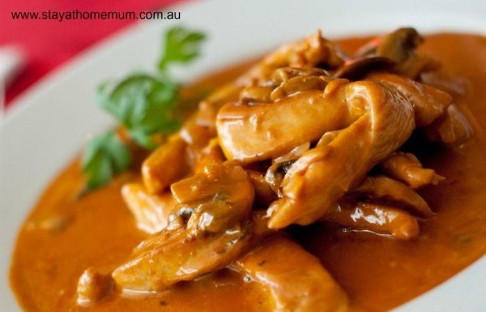 Chicken Stroganoff Recipe | Stay at Home Mum