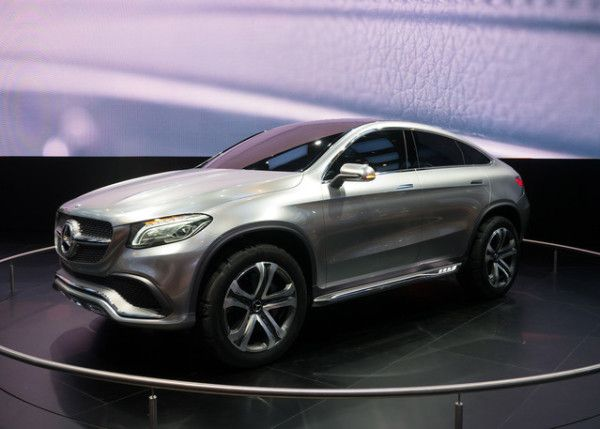 2014 Mercedes Benz SUV Concept 600x429 2014 Mercedes Benz Coupe SUV Review and Design